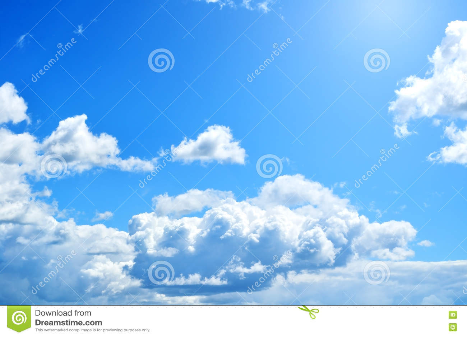 Nuvole Drammatiche Del Cielo Nuvoloso Sfondo Naturale Immagine