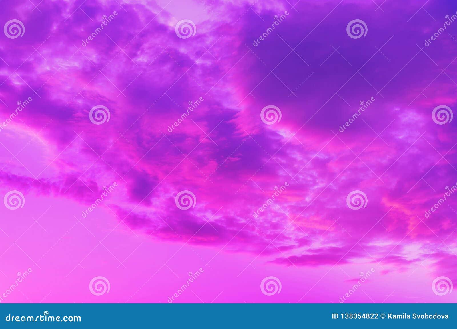 Nuvole Rosato-blu