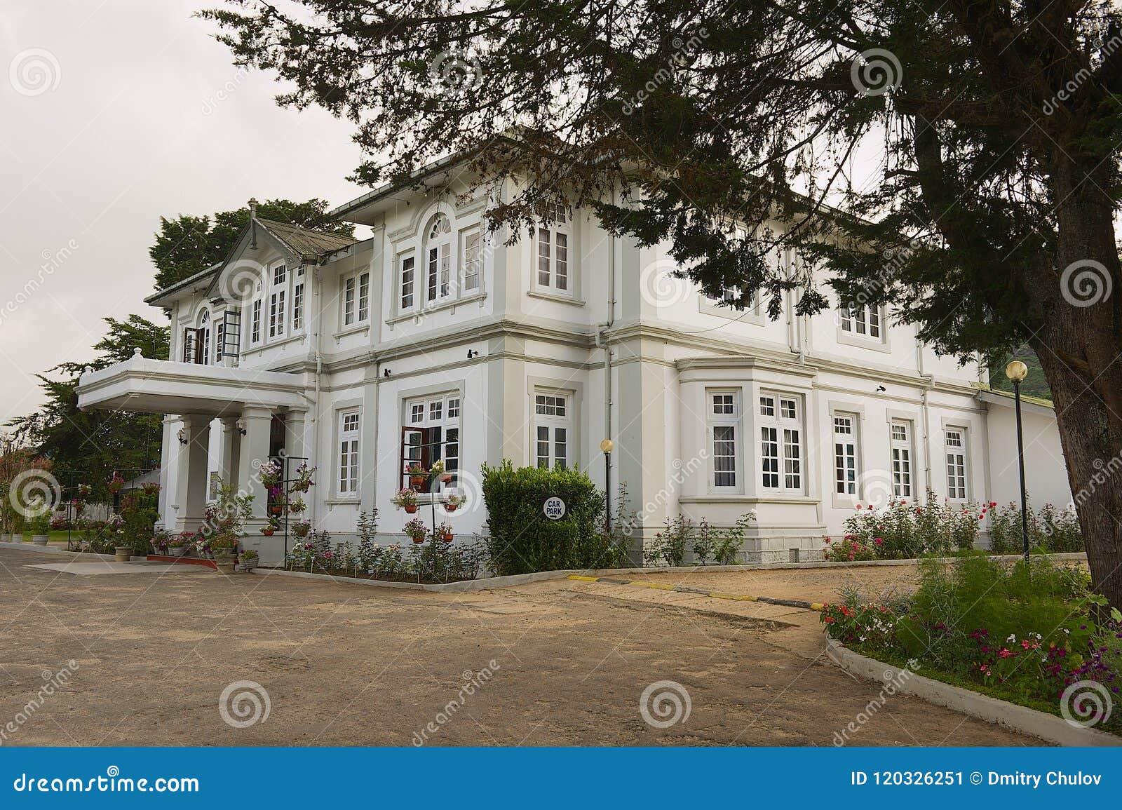 Colonial Architecture Building In Nuwara Eliya Sri Lanka Editorial