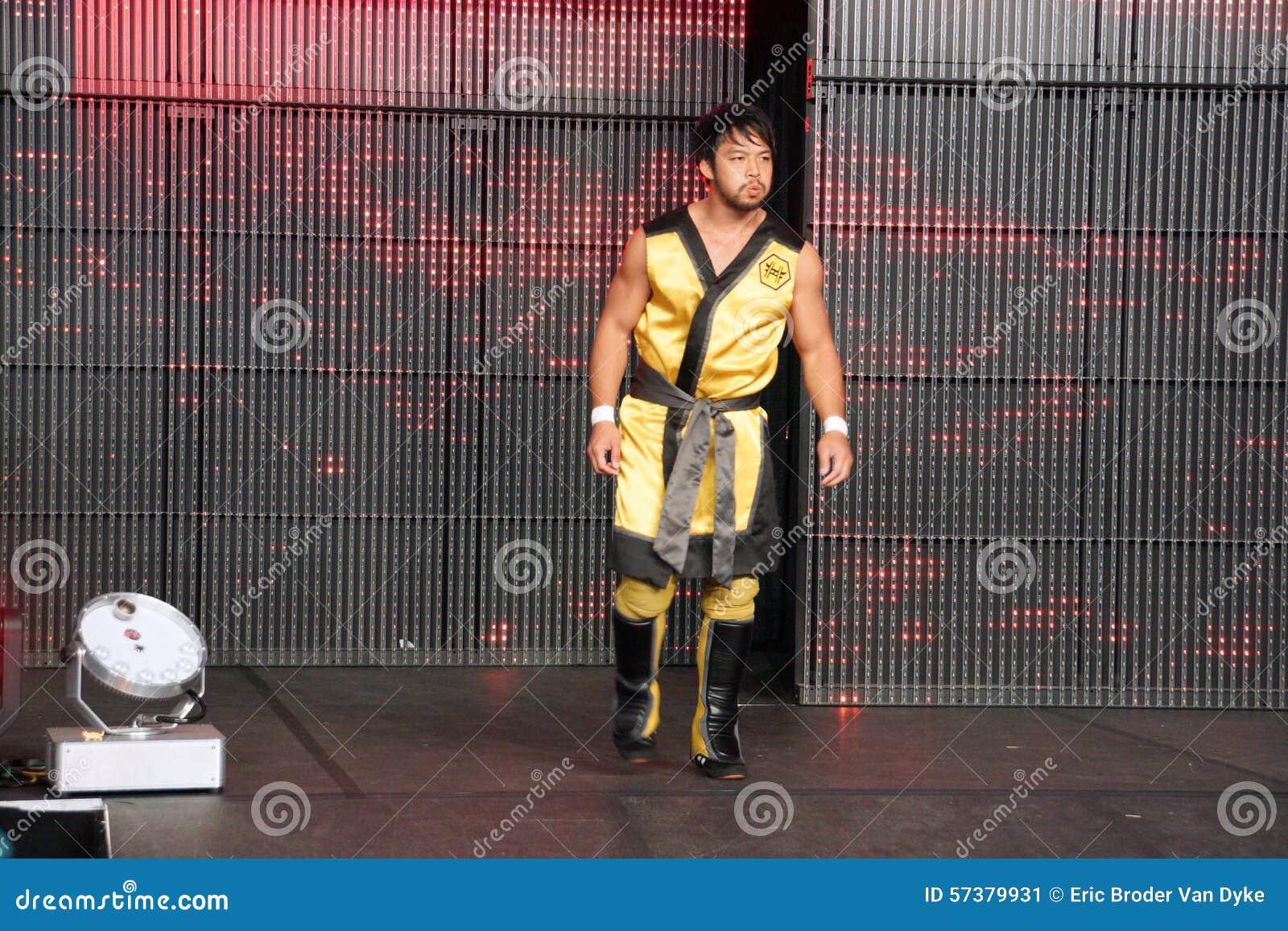 NXT worstelt Hideo Itami, weet ook als Kenta Kobayashi Japan is