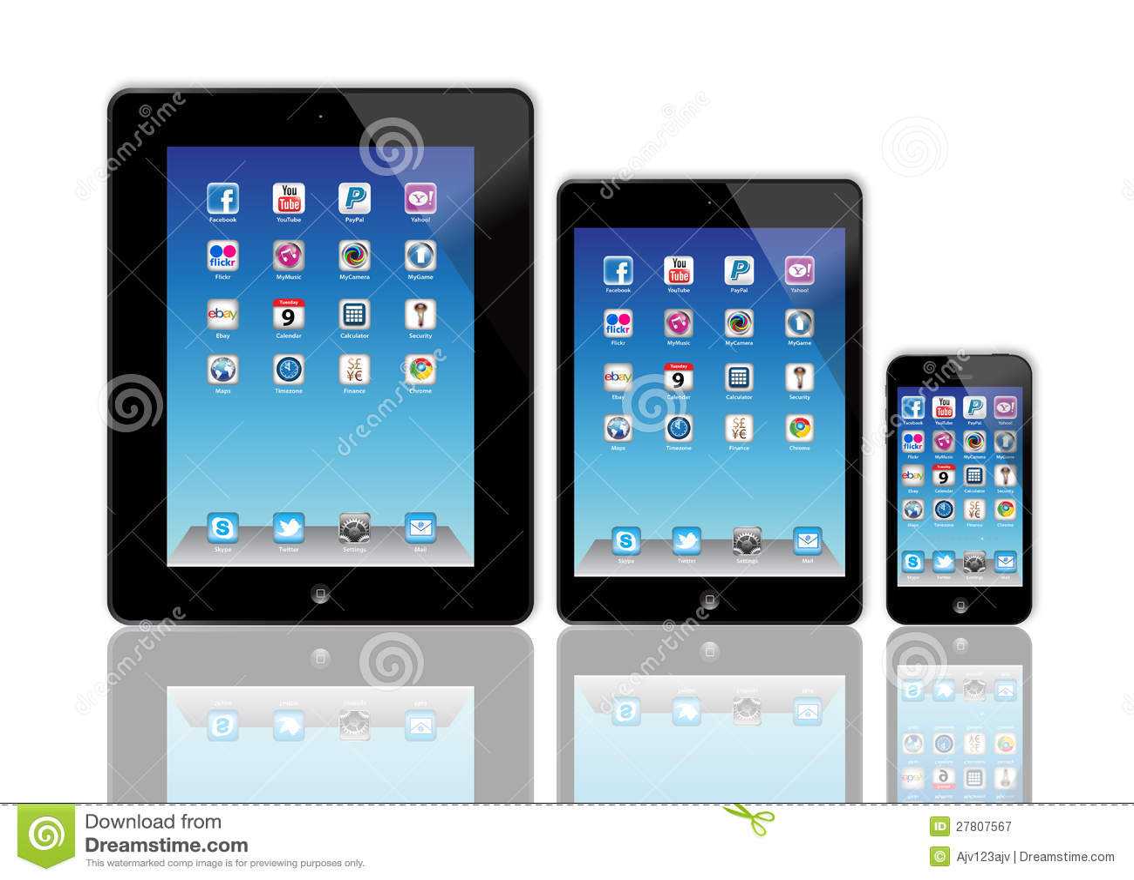 Ny Apple iPad och iPhone 5