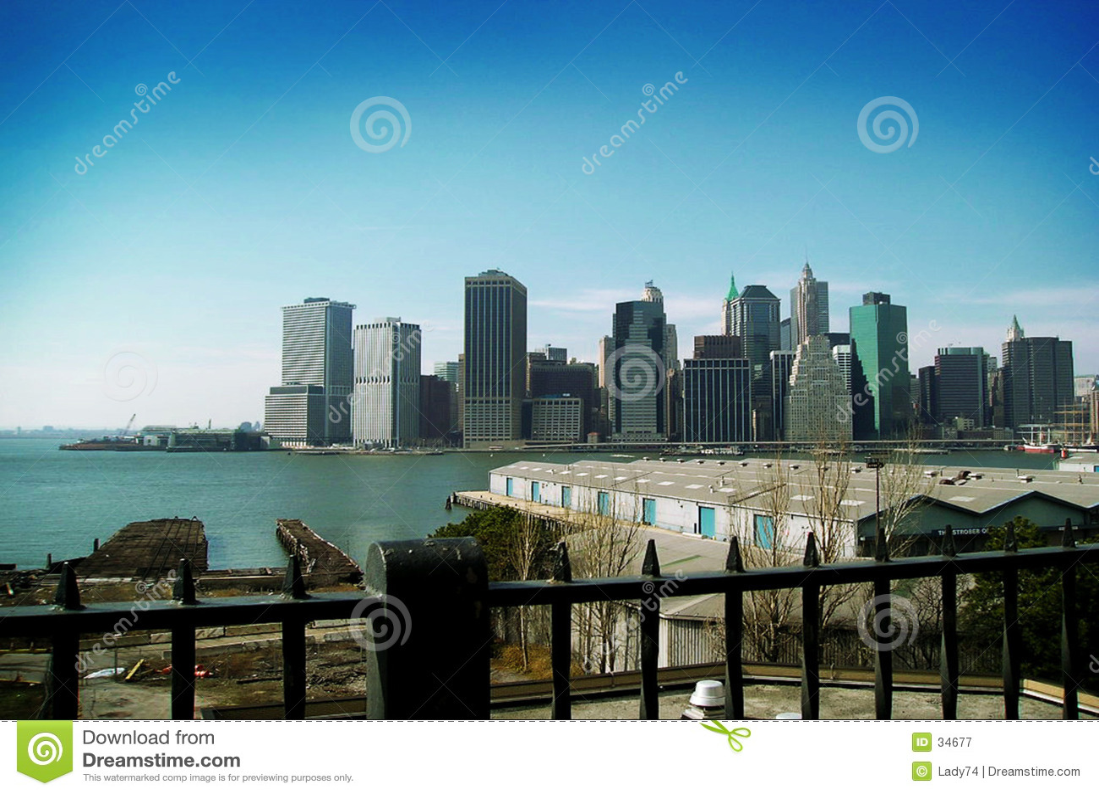 NY azul