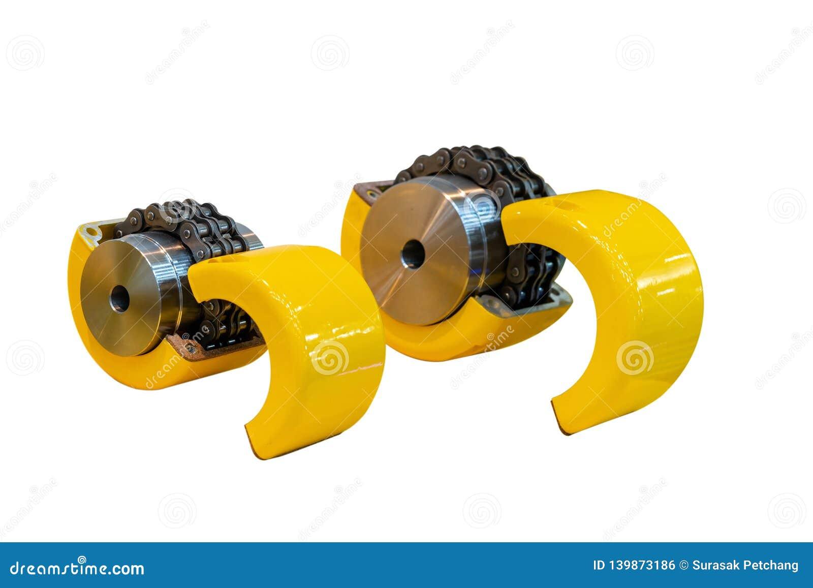 Ny böjlig kedjekoppling för överföringsmakt i för två-tråd för industriellt arbete kedjor rulle typ för omkring två tandhjul