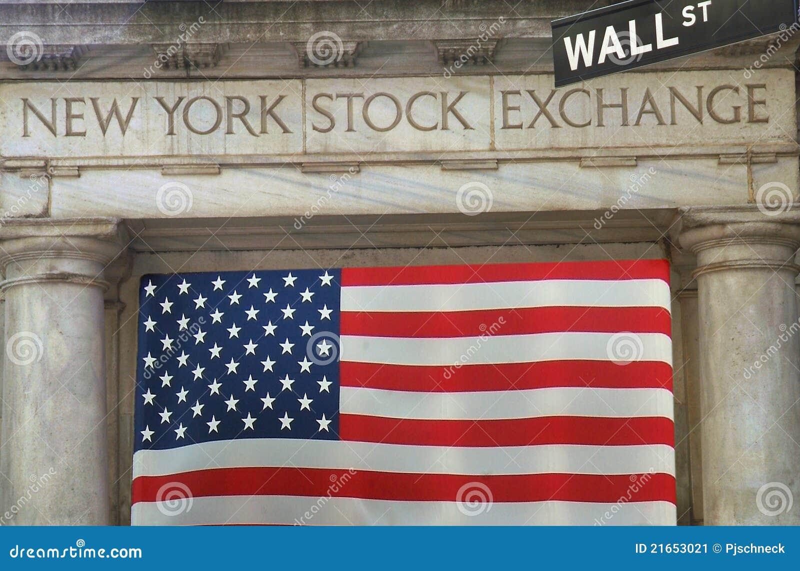 NY Börse Wall Street
