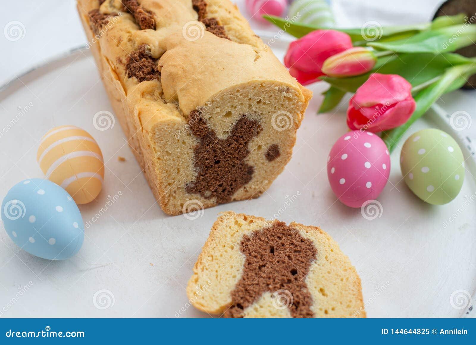 Ny bakad påsk Bunny Cake