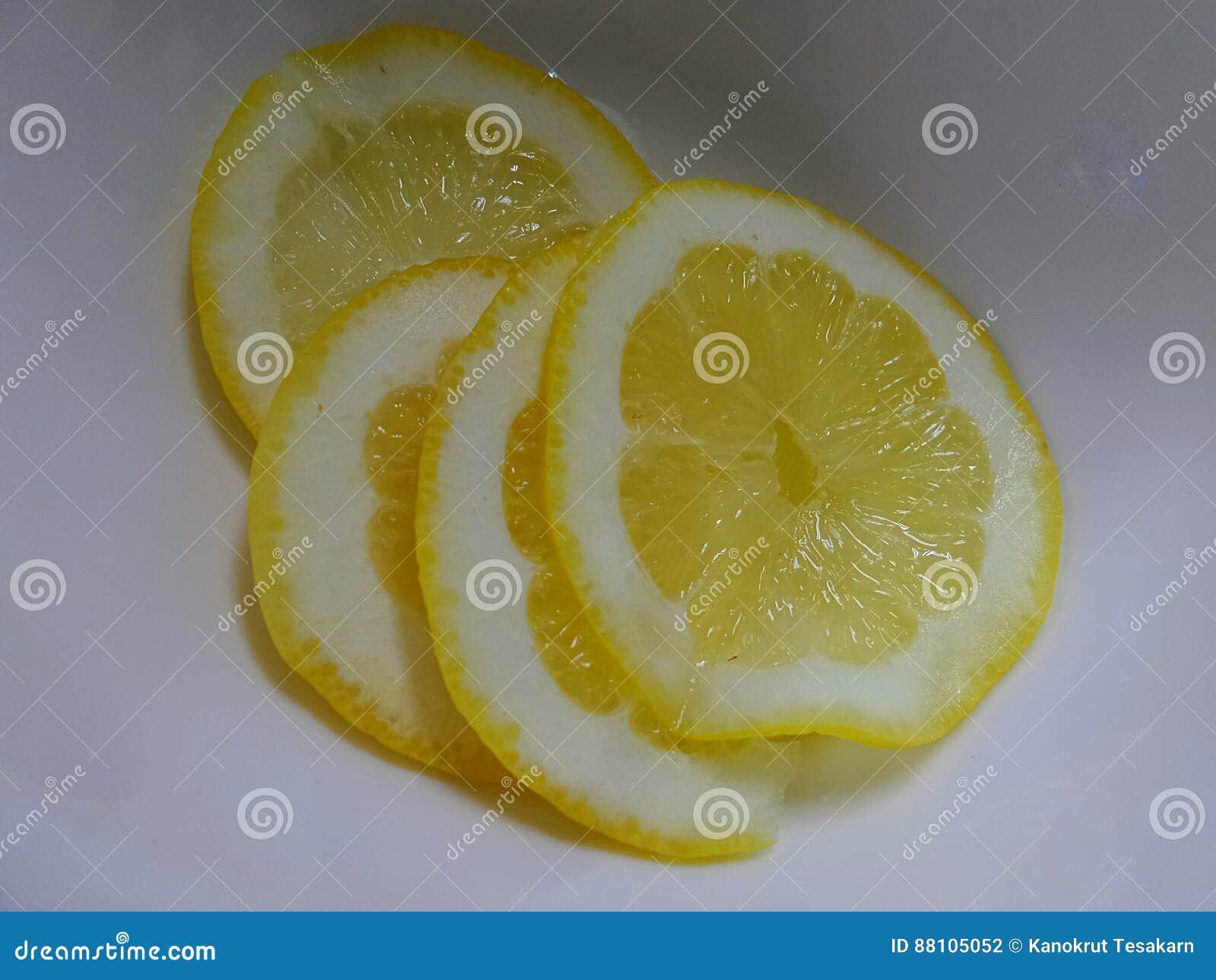 Ny citronskiva