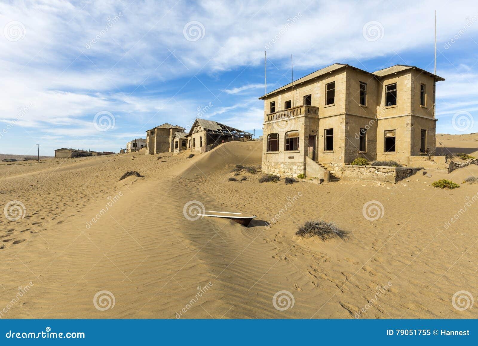 Ny dyn i Kolmanskop