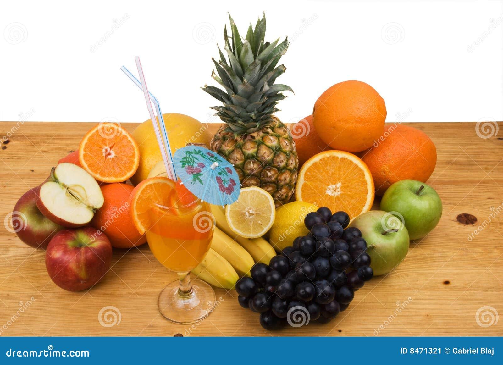 Ny fruktfruktsaft