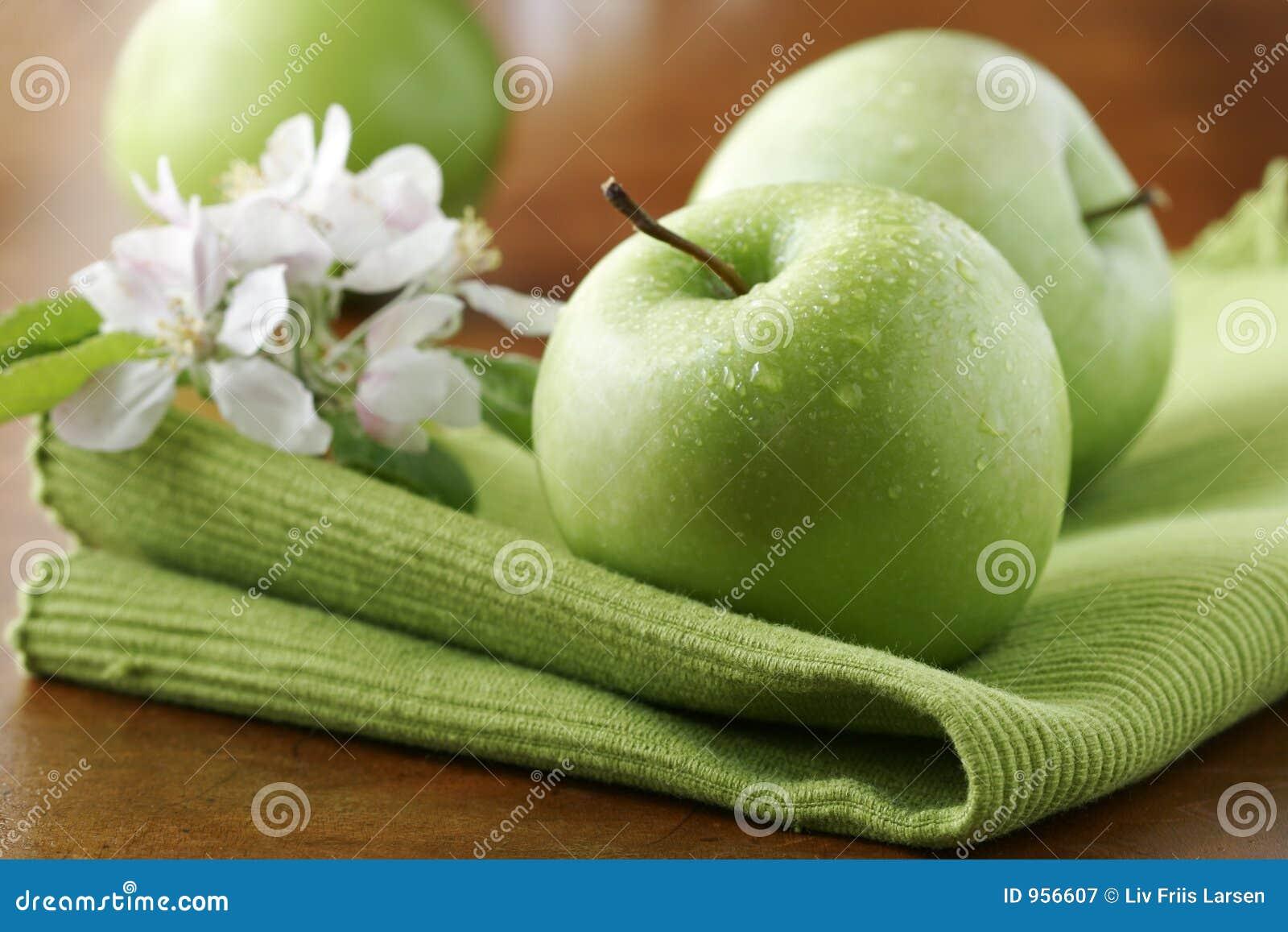 Ny green för äpplen