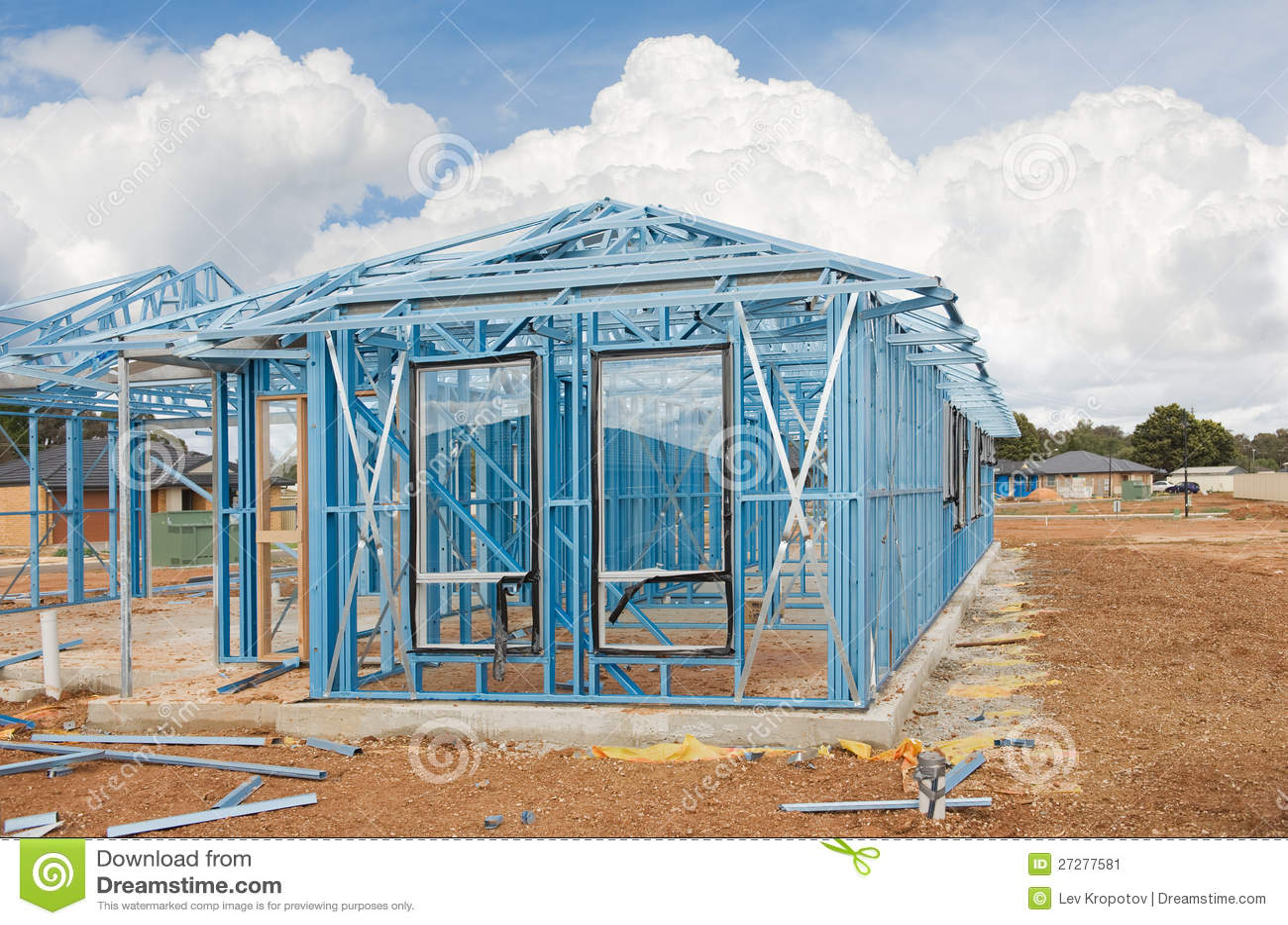 Ny home konstruktionsinramning