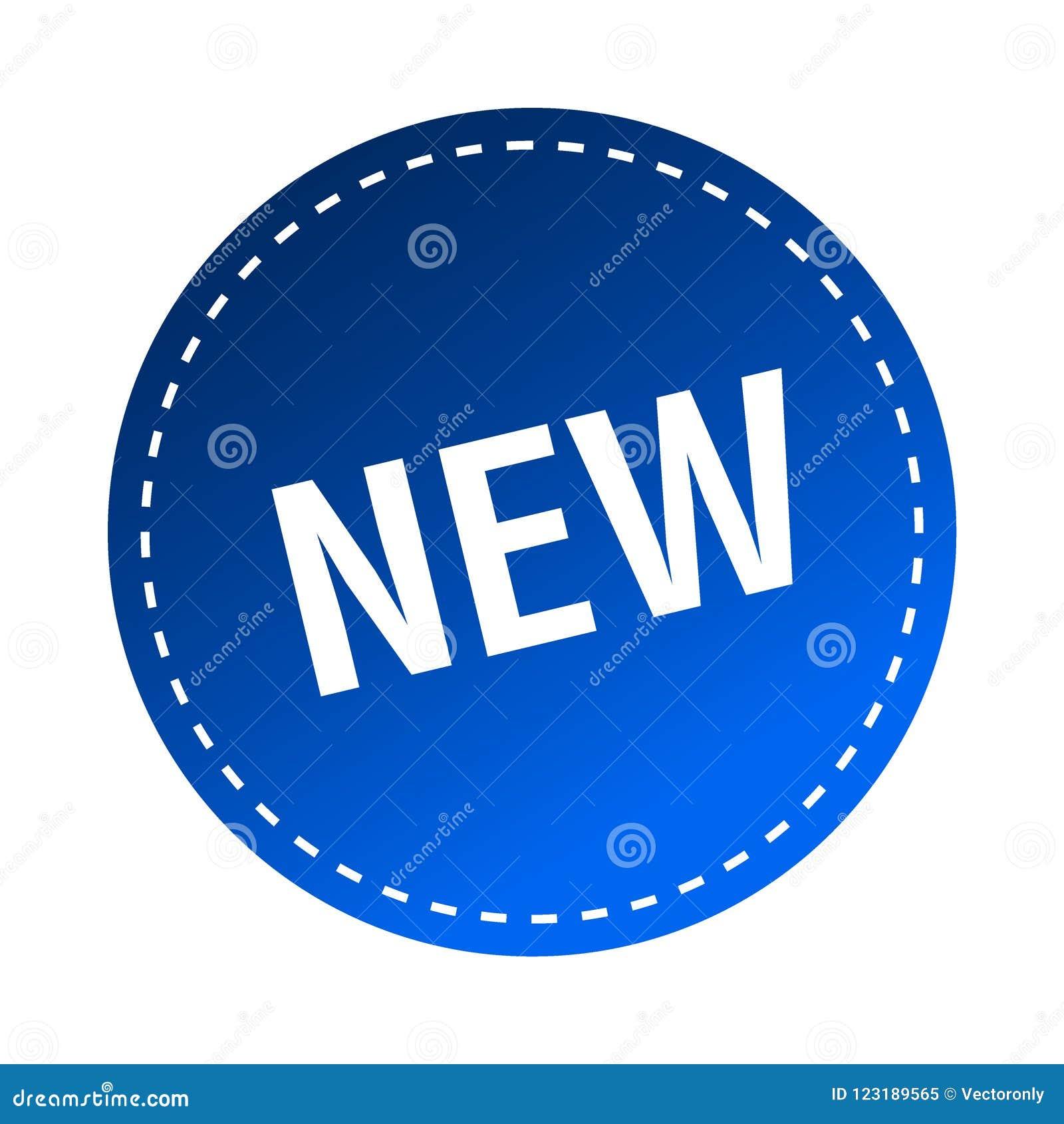 Ny klistermärke/stämpel