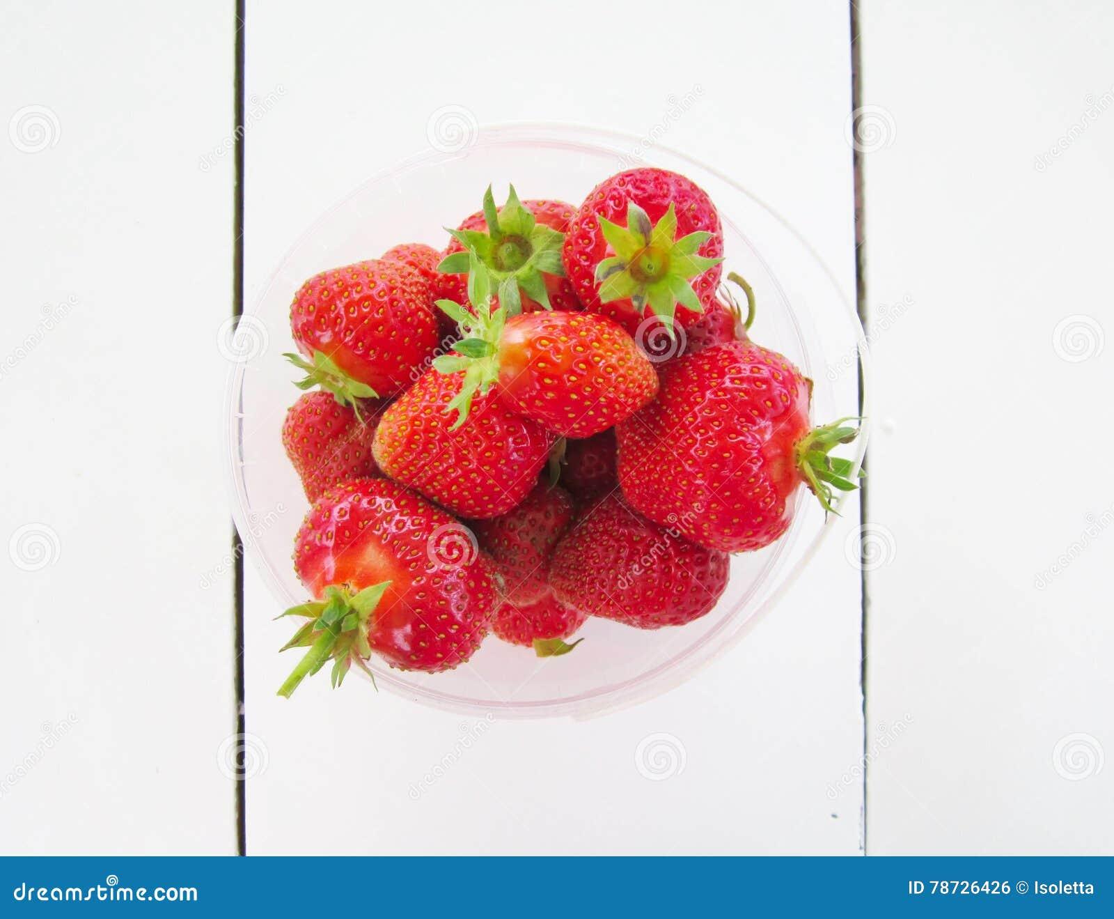 Ny mogen jordgubbe