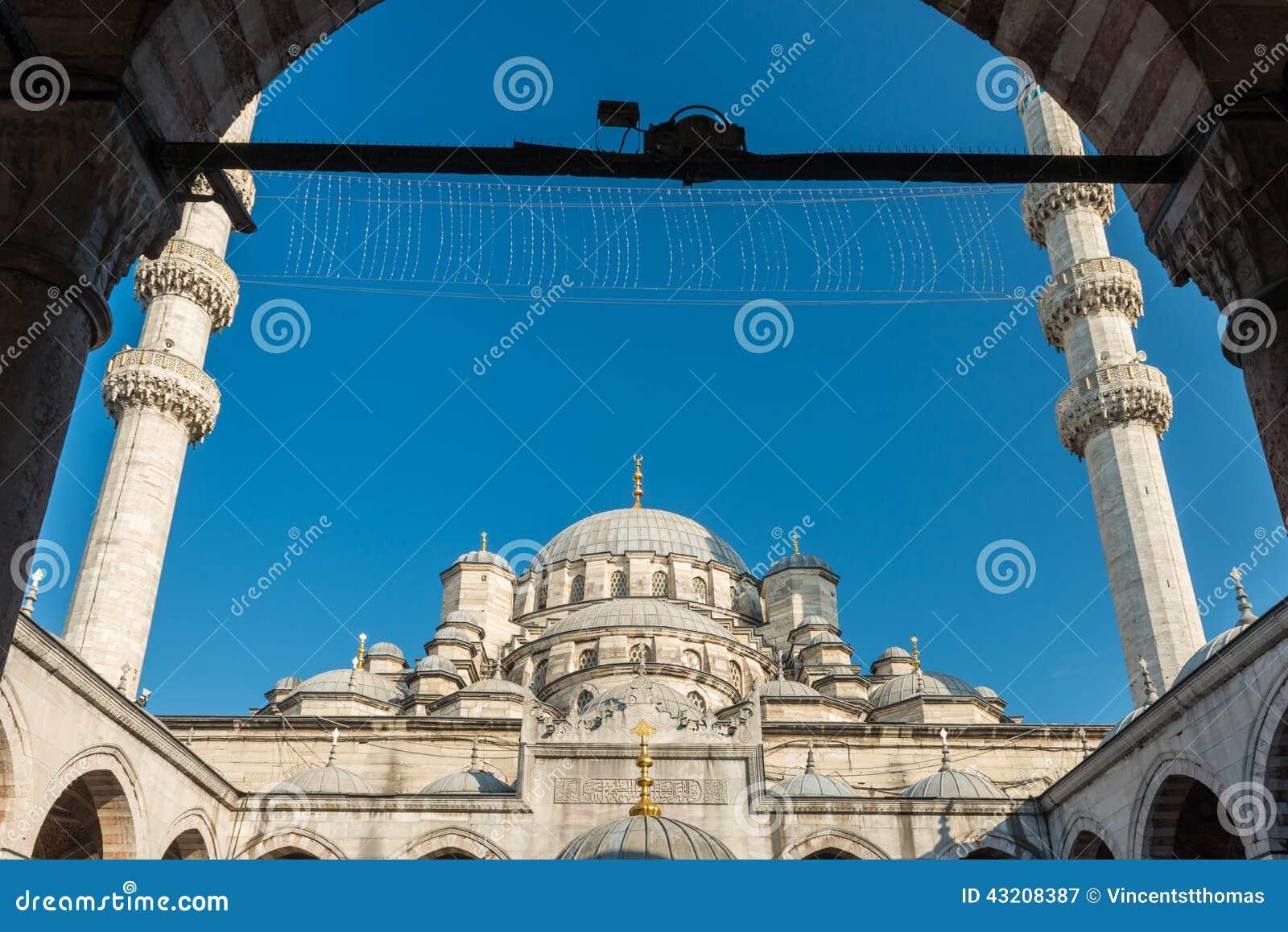Download Ny moské fotografering för bildbyråer. Bild av ställe - 43208387