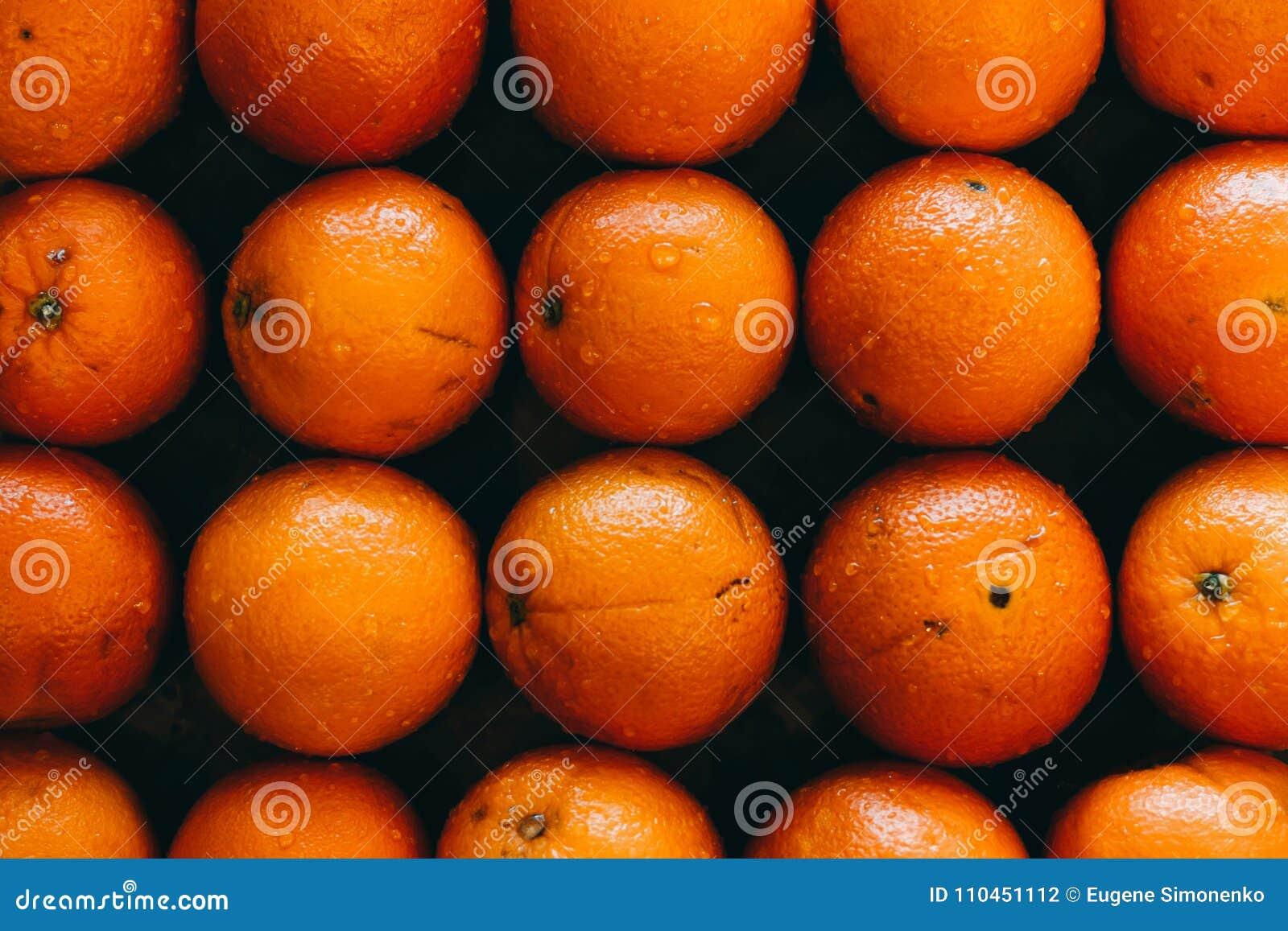 Ny orange för bakgrund