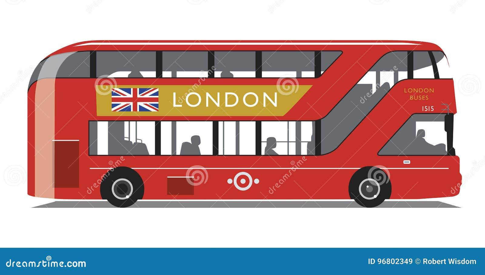 Ny Routemaster för London buss typ