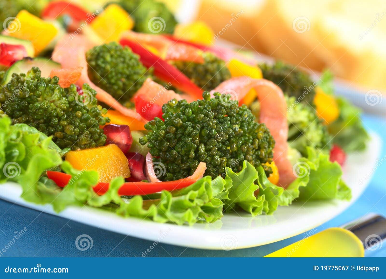 Ny sallad för broccoli