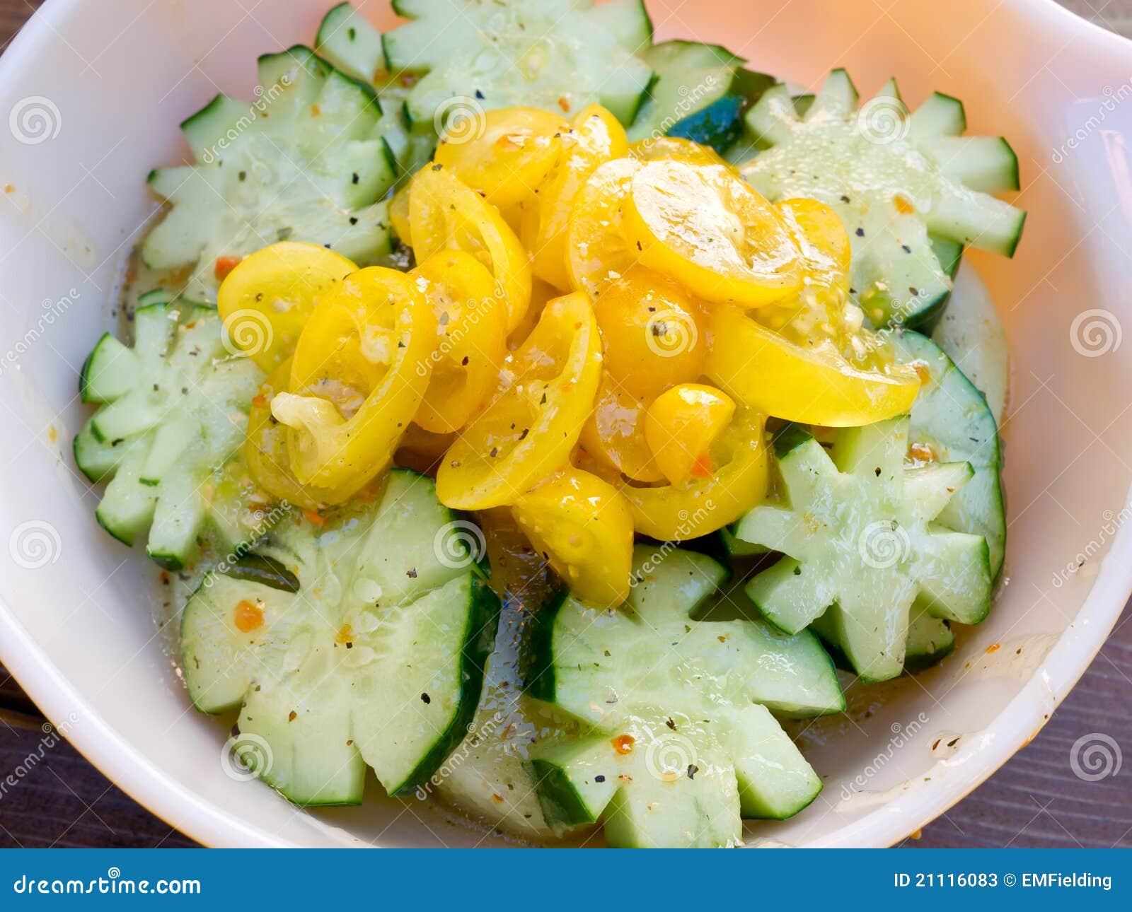 Ny salladtomat för gurka