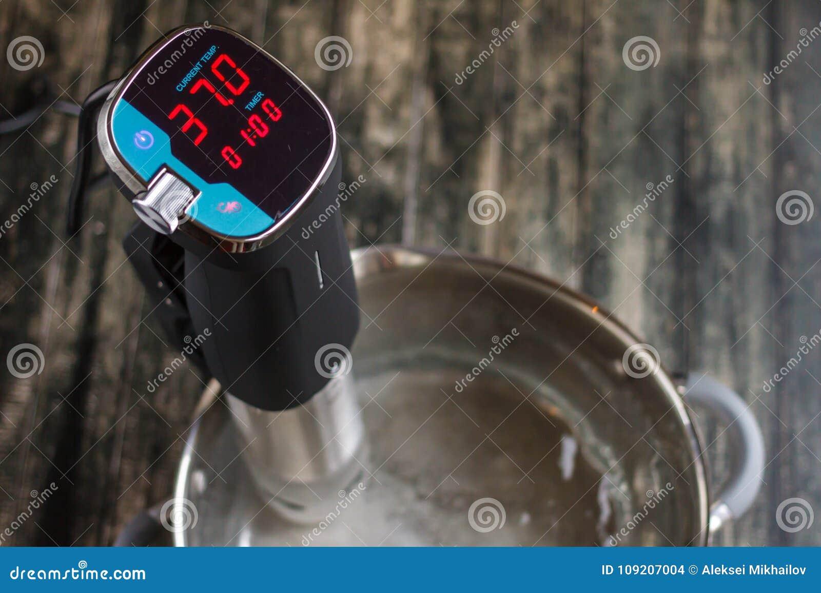 Ny termometer för att mäta vattentemperatur från över