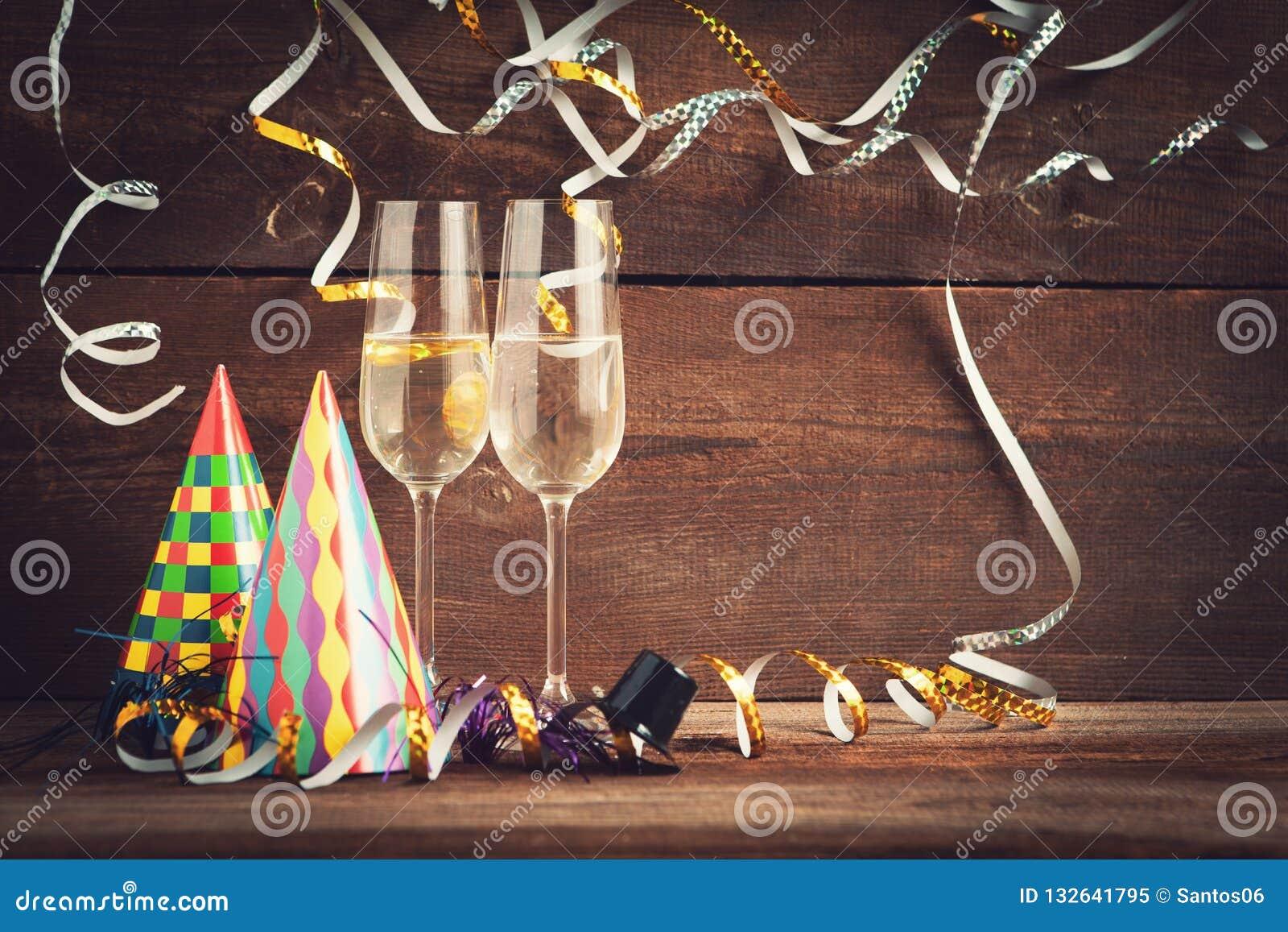 Nya år helgdagsaftonbakgrund