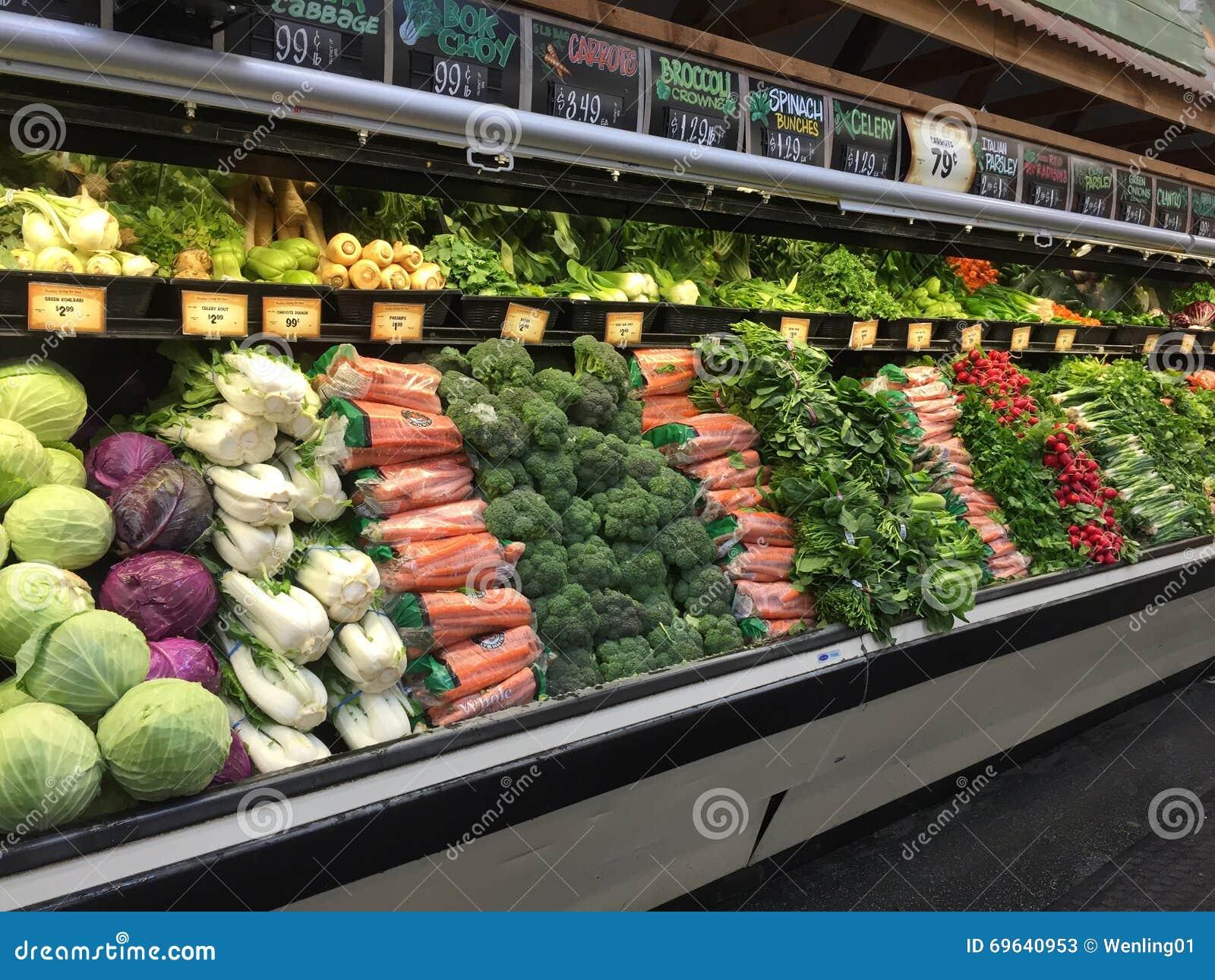 Nya Grönsaker, I Att Sälja För Kylskåp Redaktionell Arkivfoto Bild av green, livsstil 69640953