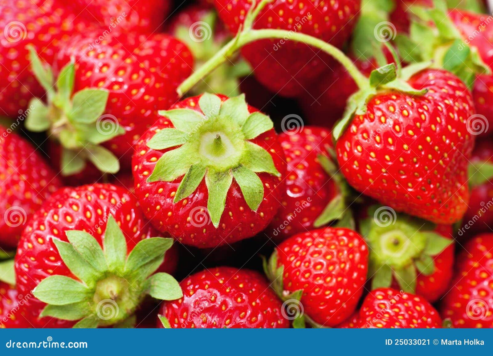Nya jordgubbar
