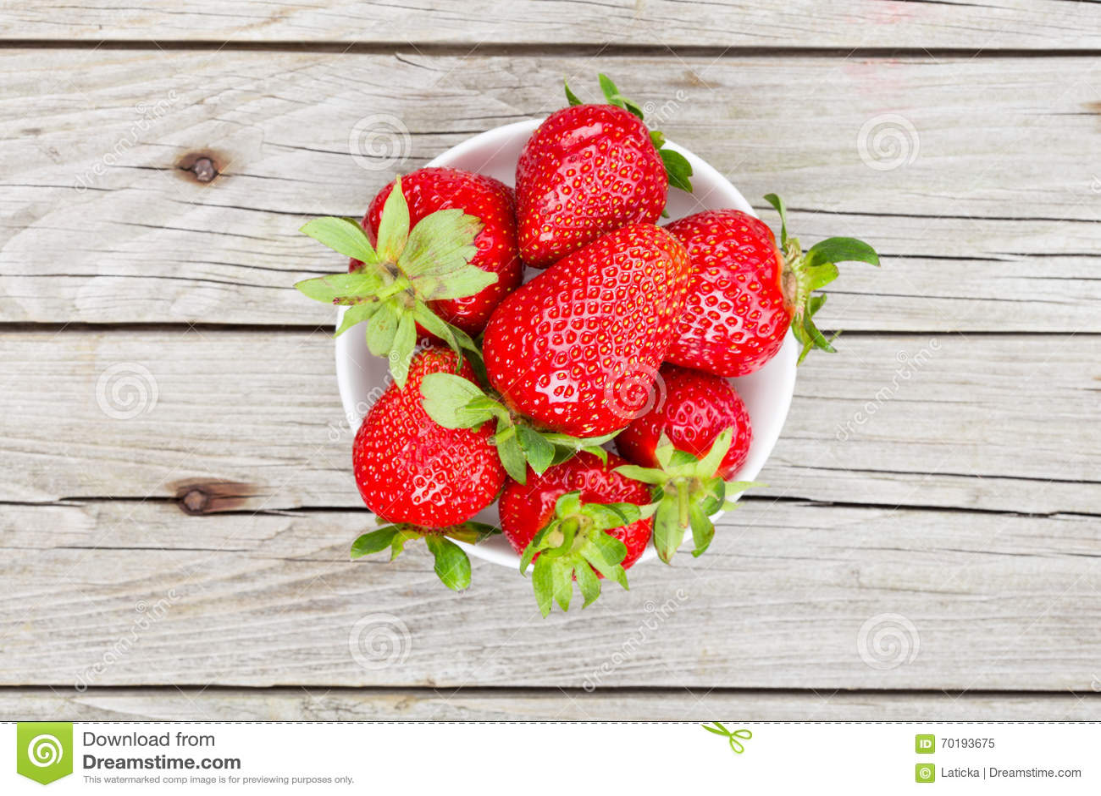 Nya mogna jordgubbar
