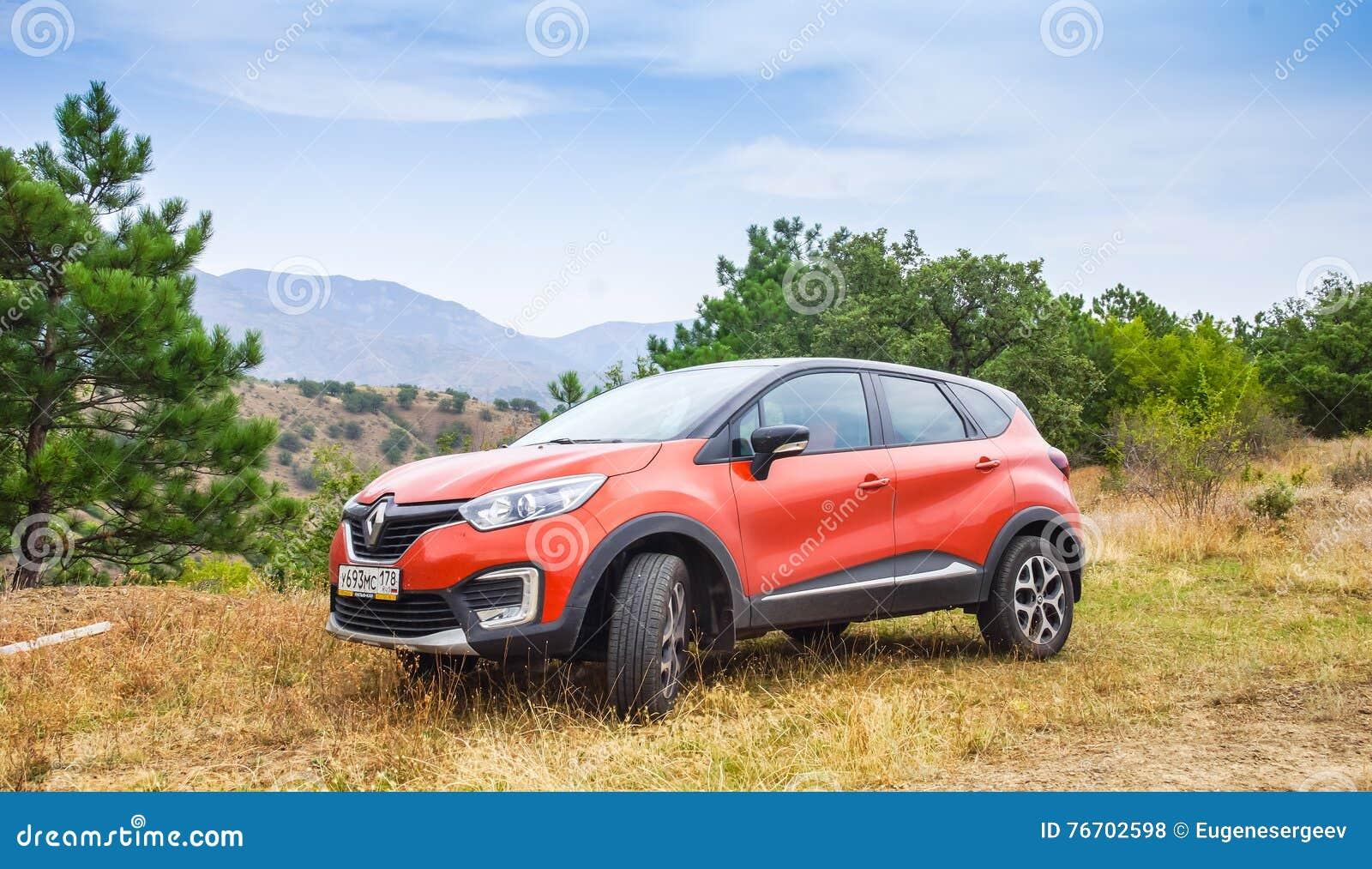 Nya orange Renault Kaptur