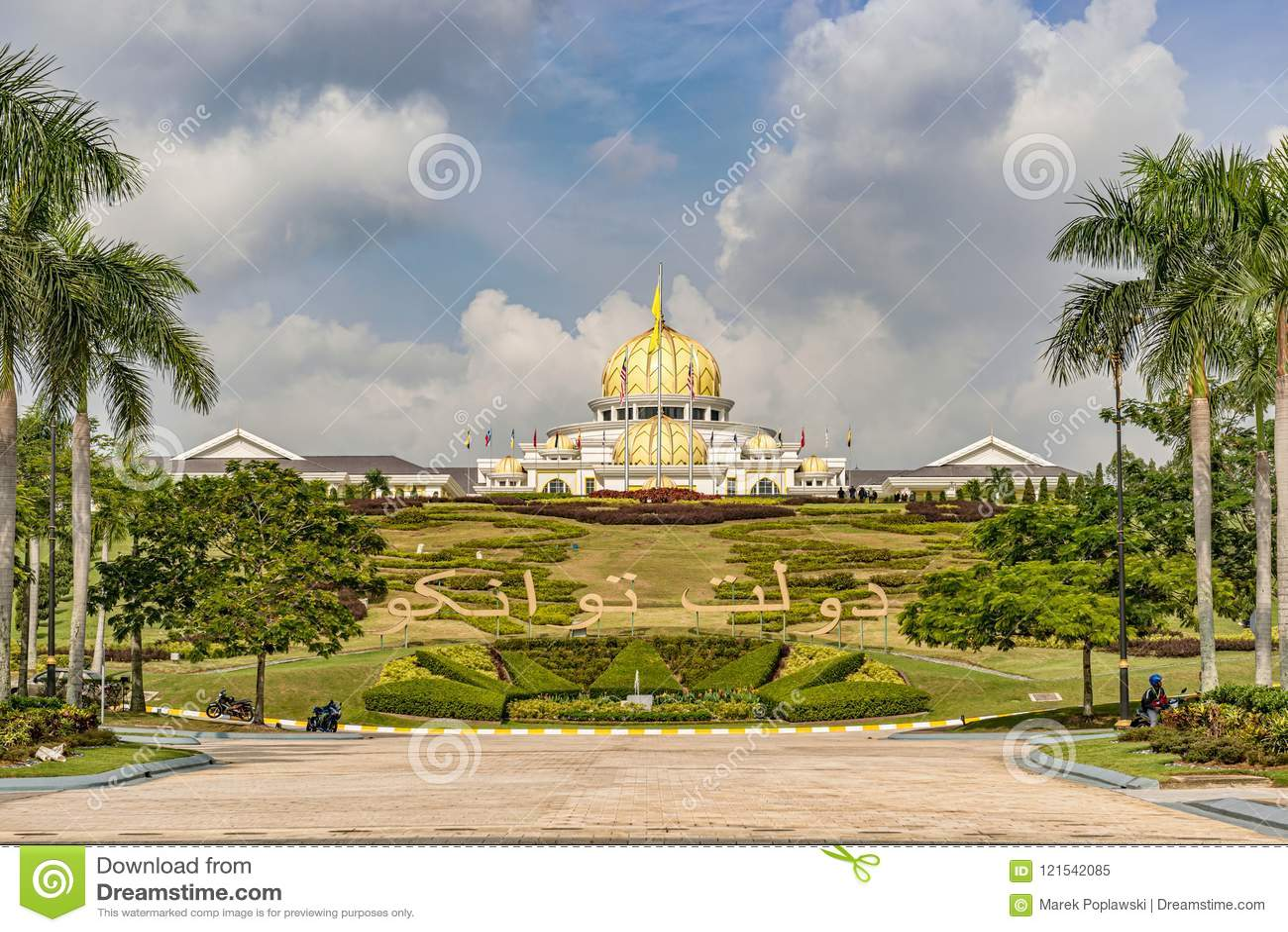 Nya Royal Palace Istana Negara i Kuala Lumpur, Malaysia