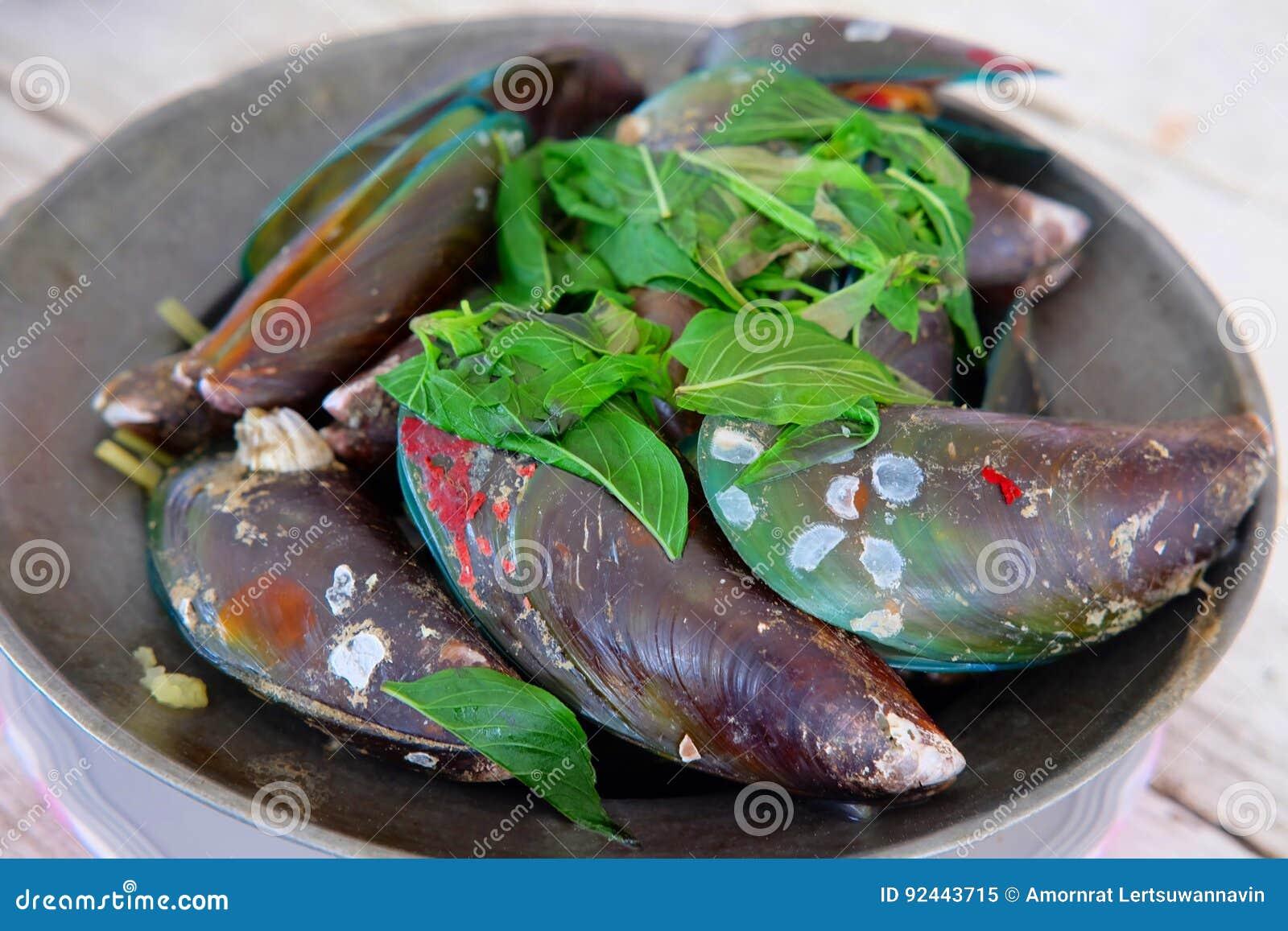Nya Zeeland mussla- och för mintkaramellsidor recept