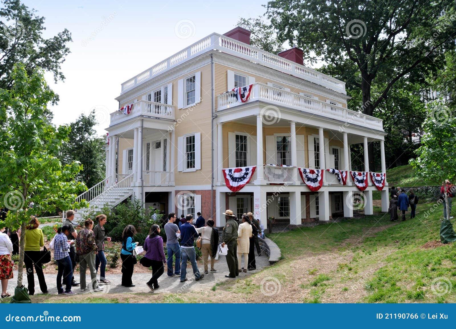 NYC: 1802 Hamilton Grange