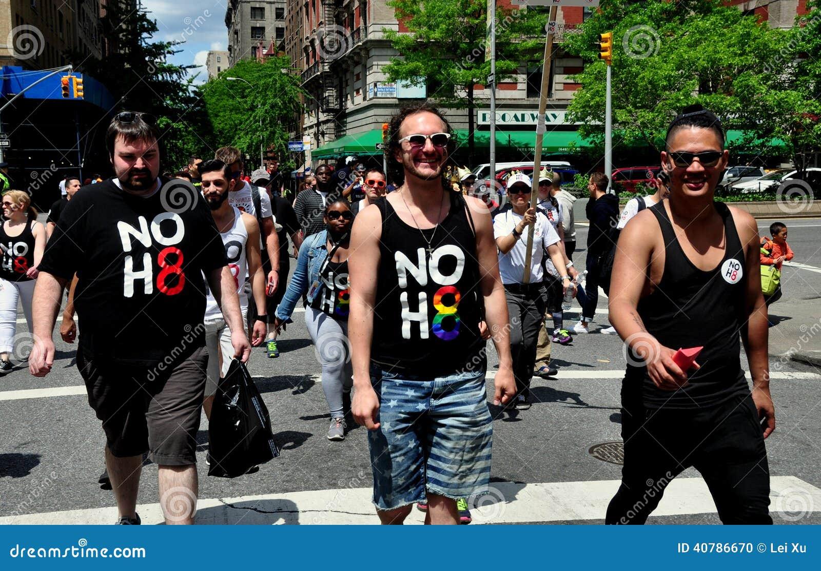 NYC: AIDS-Gang 2014 Leurders