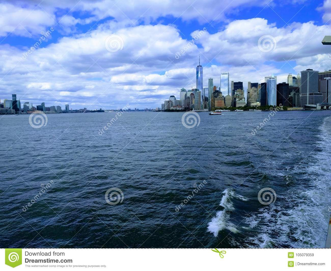 NYC from the Atlantic.!