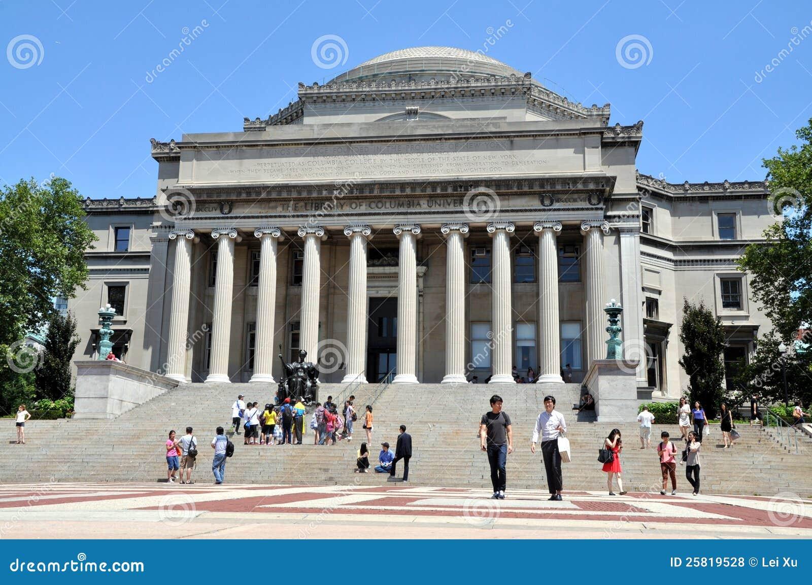 NYC: A biblioteca da Universidade de Columbia