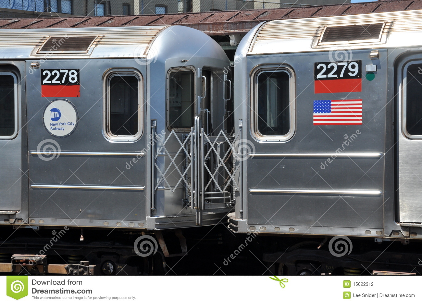 NYC: Coches de subterráneo del MTA 2278 y 2279