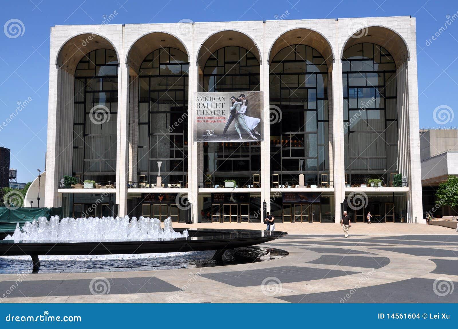 NYC: Het metropolitaanse Huis van de Opera