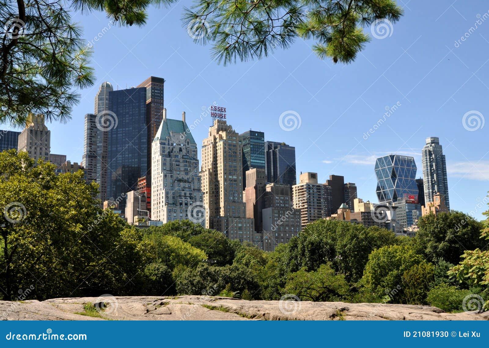 NYC : Horizon de Manhattan de Midtown