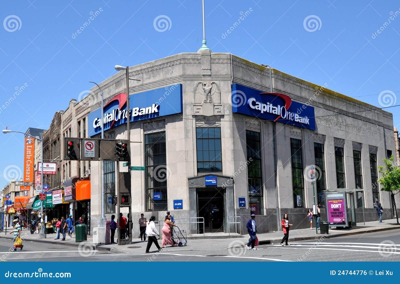 NYC: La Banca del capitale uno in regine
