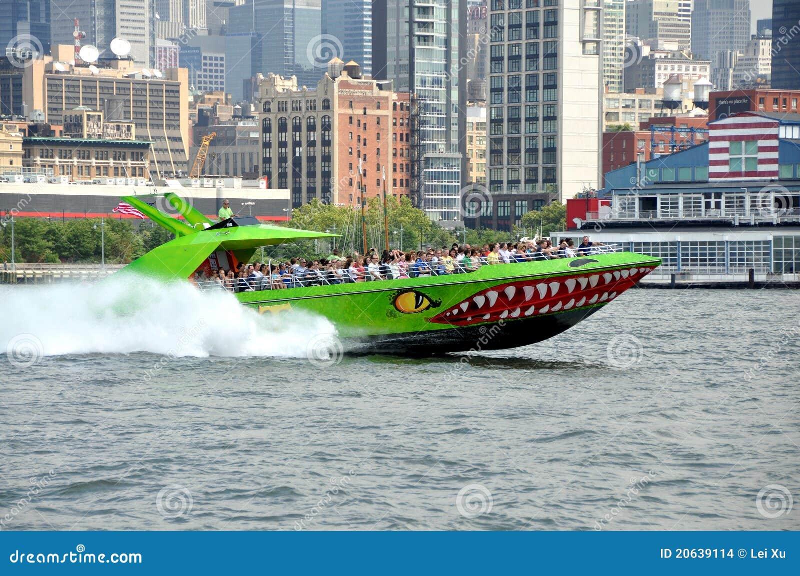 NYC : Le bateau d excursion de bête