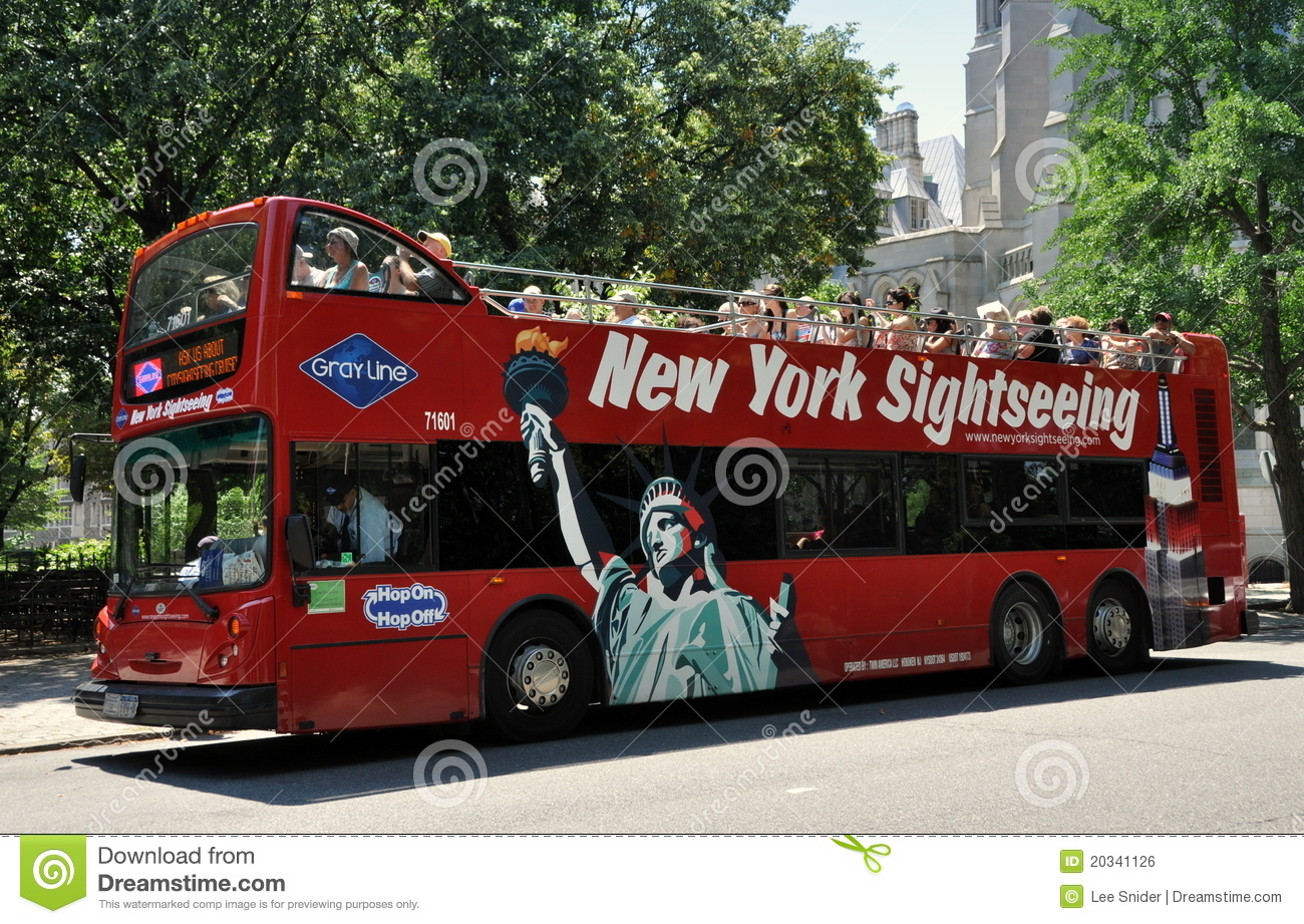 Tour Guide Bus Nyc