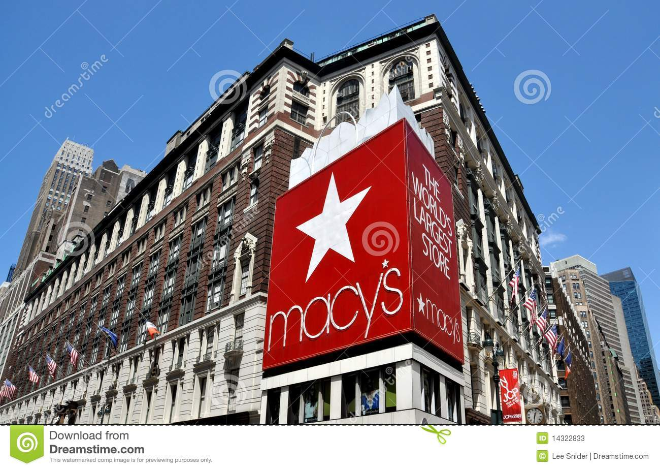 Nyc Macy S Department Store Editorial Stock Photo Image
