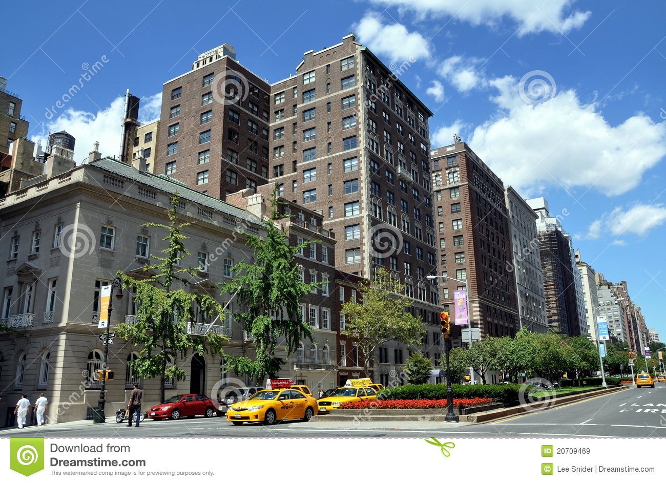 nyc park avenue apartment buildings editorial stock image image