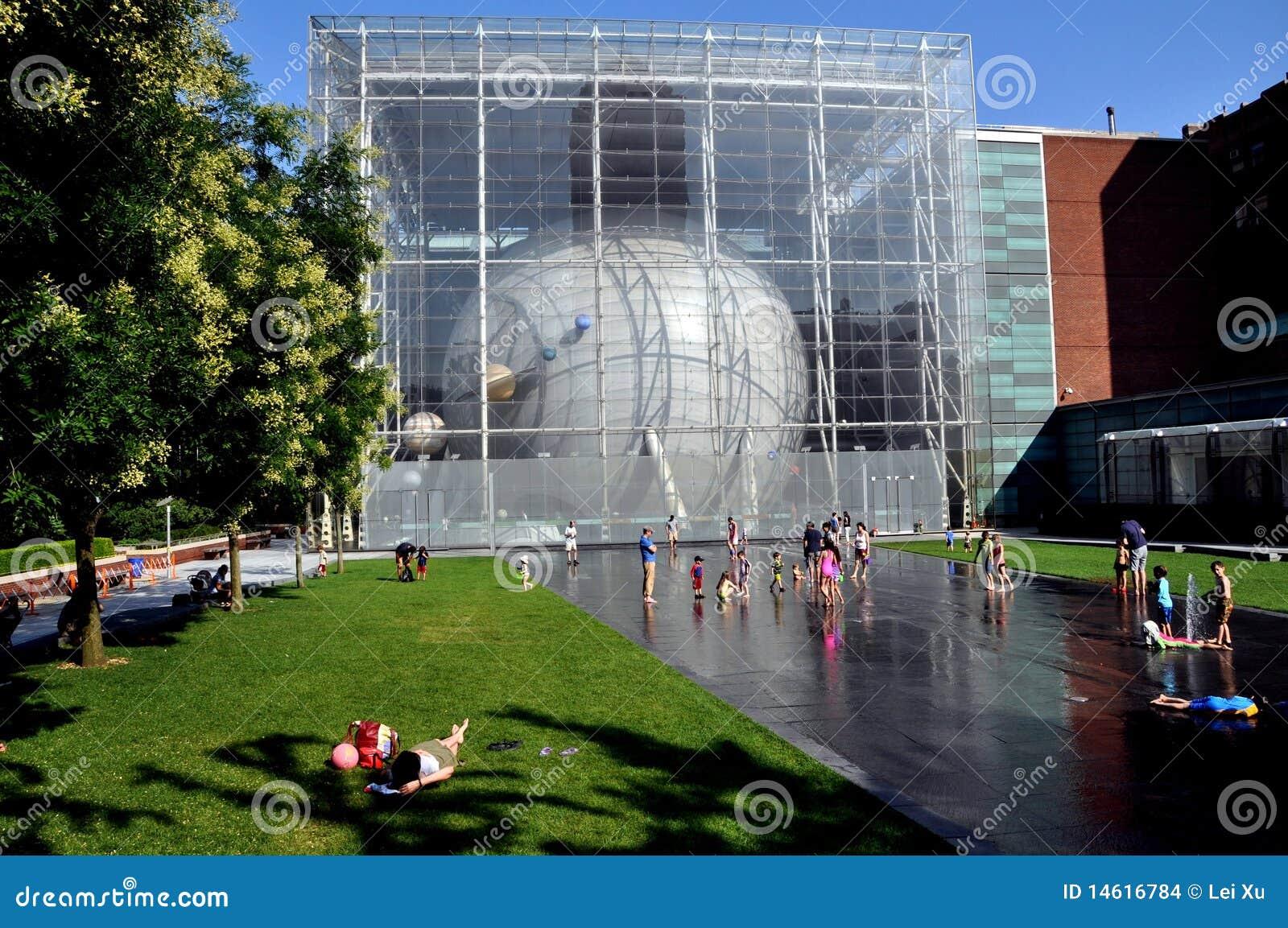 NYC: Planetarium de Hayden e terraço de Ross