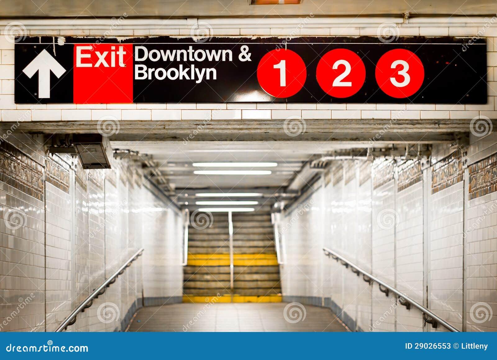 NYC stacja metru