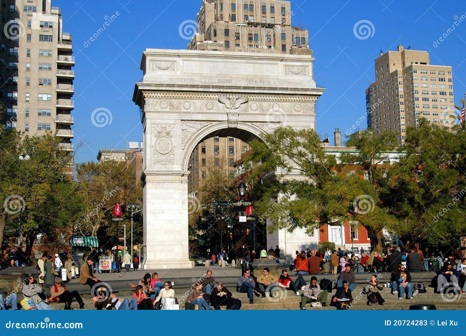 New York City Arc De Triomphe