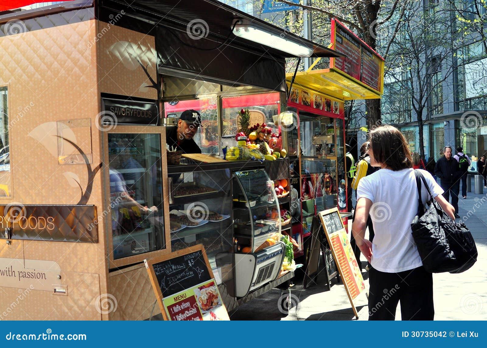Bagel Food Truck Nyc