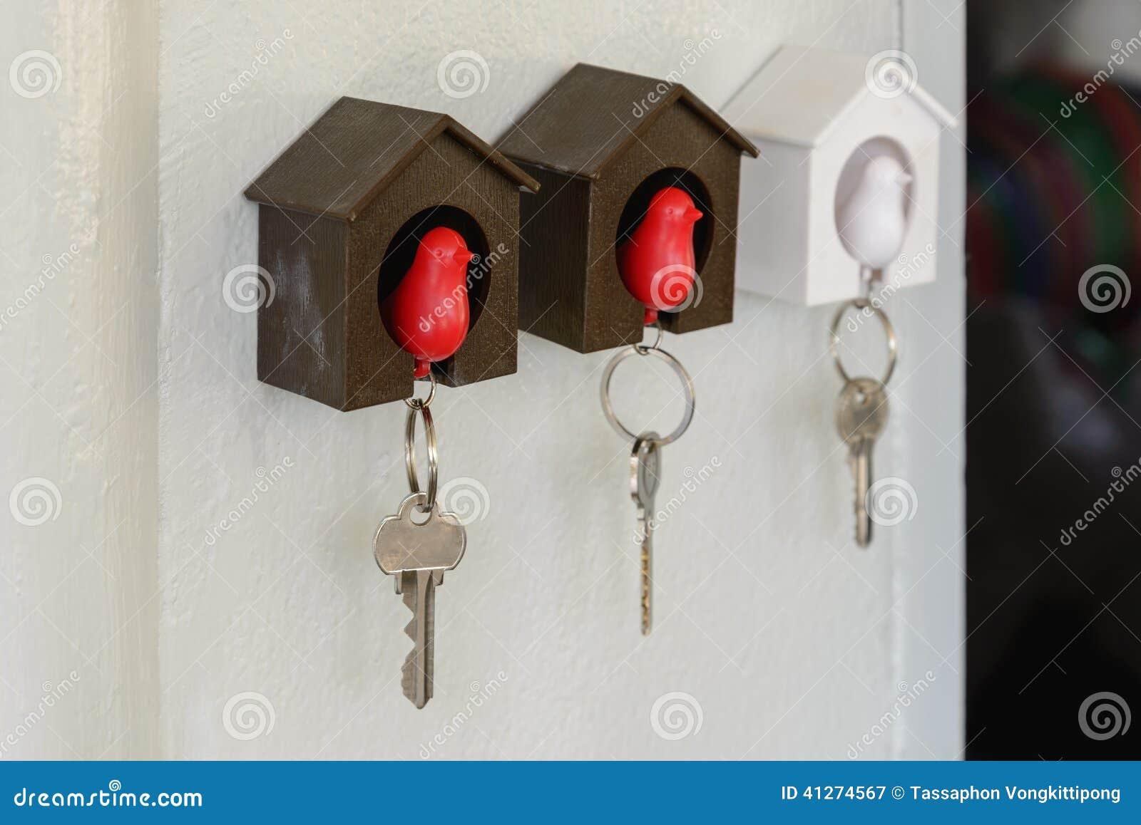 Nyckel Hållare För Vägg Arkivfoto Bild 41274567