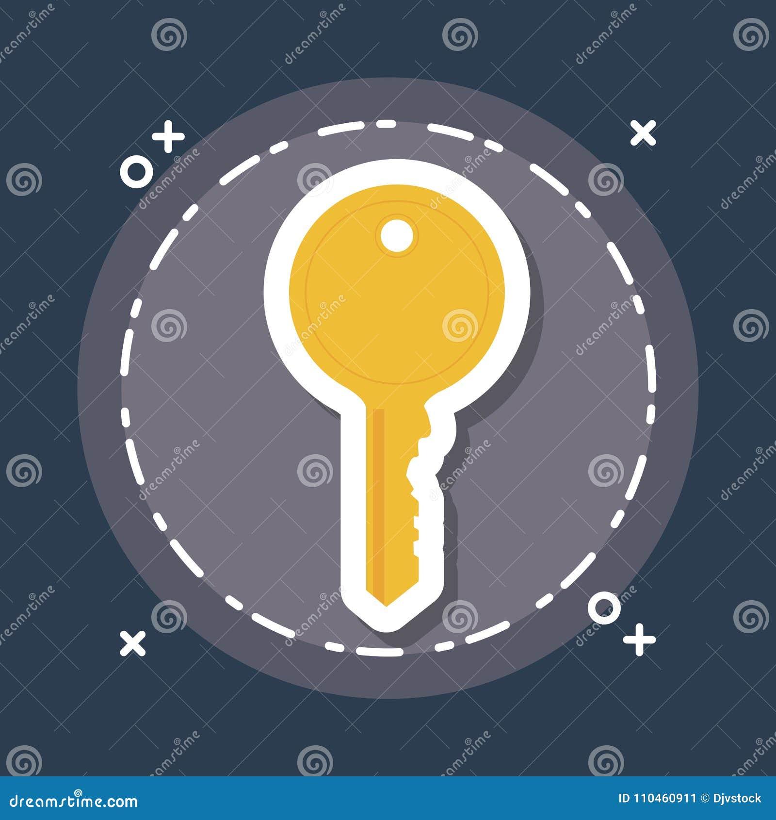 Nyckel- symbolsbild