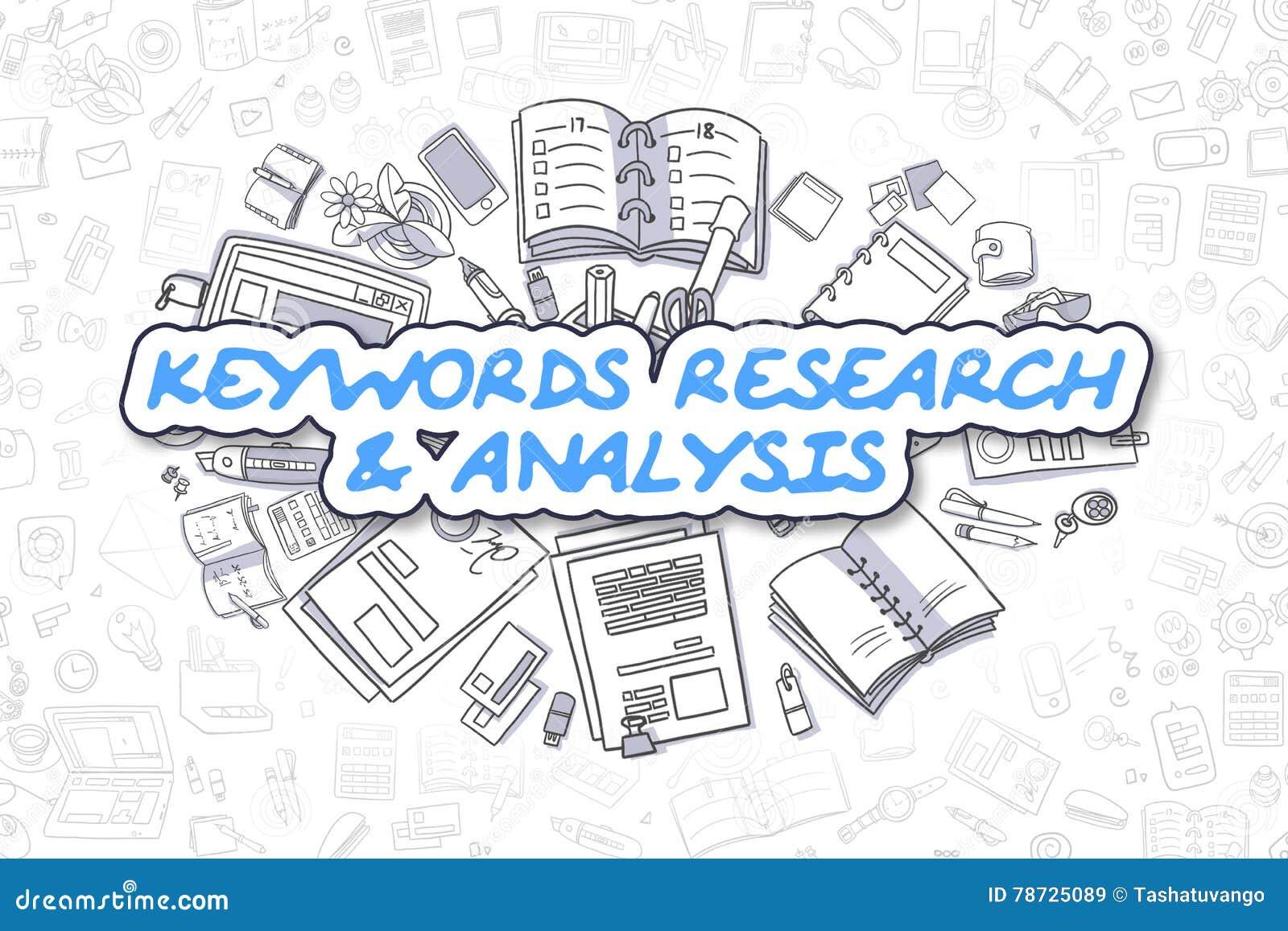 Nyckelord forskning och analys - affärsidé