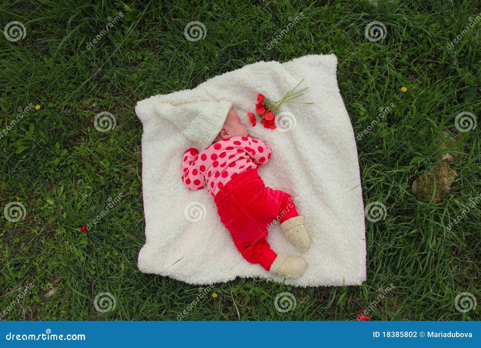 Nyfödd flicka