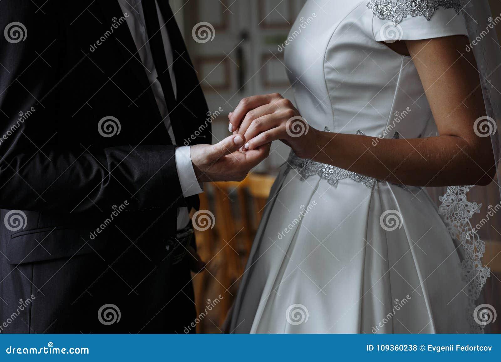 Nygifta personer för bröllopet